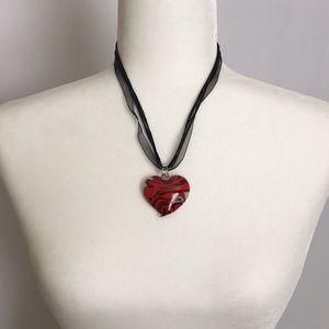 Jewelry - $3 BUNDLED/HEART PENDANT NECKLACE
